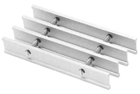 Brown-Campbell Bar Grating - 19AI4 Aluminum I-Bar Grating