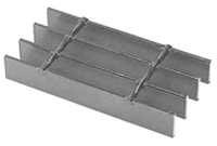 Brown-Campbell Bar Grating - 19W4 Welded Carbon Steel Grating