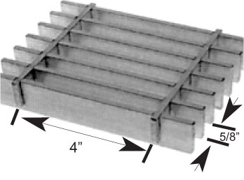 Brown-Campbell Company - 10AP4/10AP2 Aluminum Bar Grating
