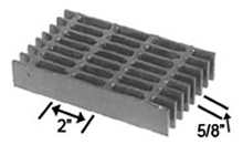 Brown-Campbell Company - 10-4/10-2 Carbon Light Duty Bar Grating