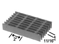 Brown-Campbell Company - 11S-4/11S-2 Stainless Steel Bar Grating