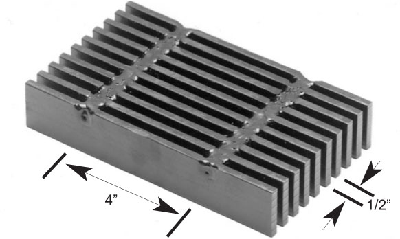 Brown-Campbell Company - 8W4 Carbon Heavy Duty Bar Grating