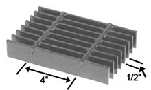 Brown-Campbell Company - 8-4/8-2 Carbon Light Duty Bar Grating