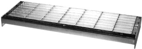 Aluminum Rectangular Bar - Tread Width Design Details