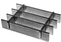 Stainless Steel Bar Grating Press-Locked