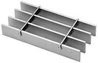 Aluminum Bar Grating Flush Top