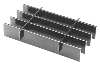 Press-Locked Bar Grating
