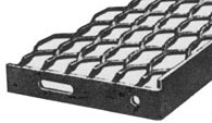 Expanded Metal Unitread Stair Tread