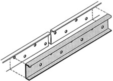 Grip Strut® Regular Accessories - Splice Plate Kit 30 Inch.