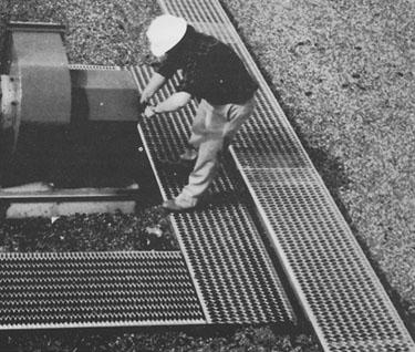 Grip Strut® Rooftop Walkway Systems