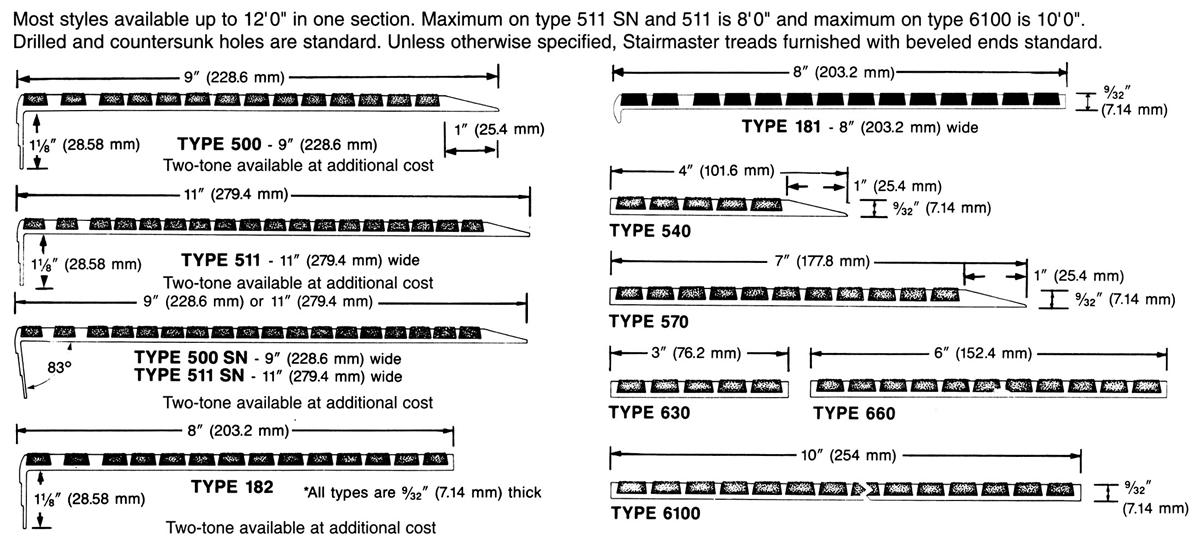 Stairmaster® Types