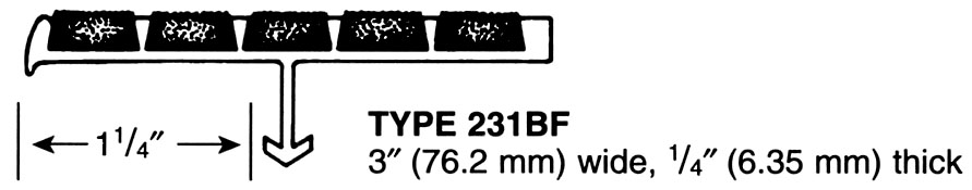 Supergrit® Type 231BF