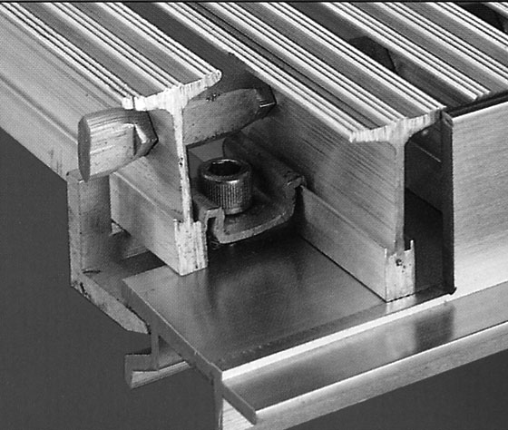 Safe-T-Grid® Cutaway: Frame, Hidden Fastener, Grating