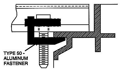 Safe-T-Grid® Fastener Side View