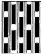 Rectangular Upset Aluminum Plank