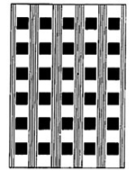 Square Plain Aluminum Plank