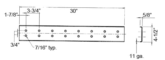 Perf-O Grip® Accessories Walkway Splice Kit