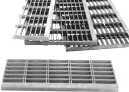 Fiberglass Molded Stair Treads