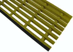 Fiberglass Pultruded Stair Treads