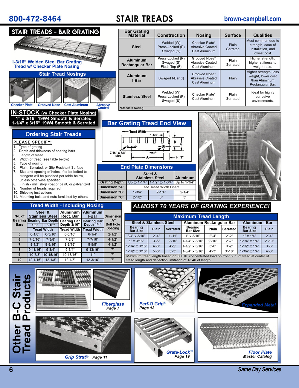 Brown-Campbell Product Guide - Page 6